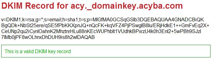 Check DNS